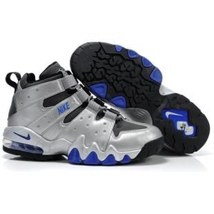 Nike Air Max2 CB 94 Charles Barkley Shoes Sliver Sport
