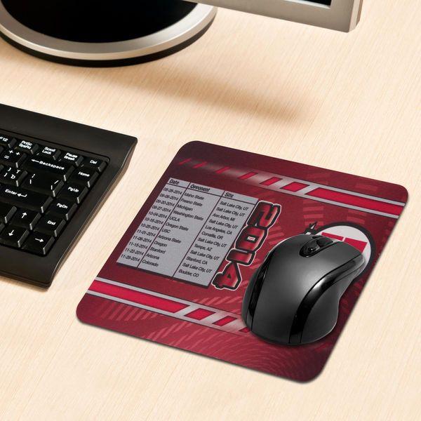 Utah Utes 2014 Schedule Mousepad - $1.99