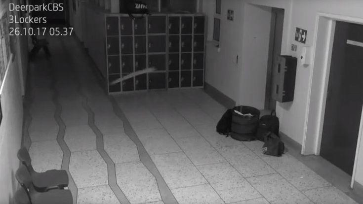 ICYMI: El sistema de vigilancia de una antigua escuela irlandesa vuelve a detectar un 'fantasma'
