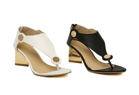 """Shoe Width: Medium (B,M) Closure Type: Zip Upper Material: PU Insole Material: Bonded Leather Fashion Element: Metal Decoration Heel Height: 6cm (2.36"""") Platform Height: 0.5cm (0.19"""") Leather Style: Soft Leather Outsole Material: PVC Lining Material: Genuine Leather"""
