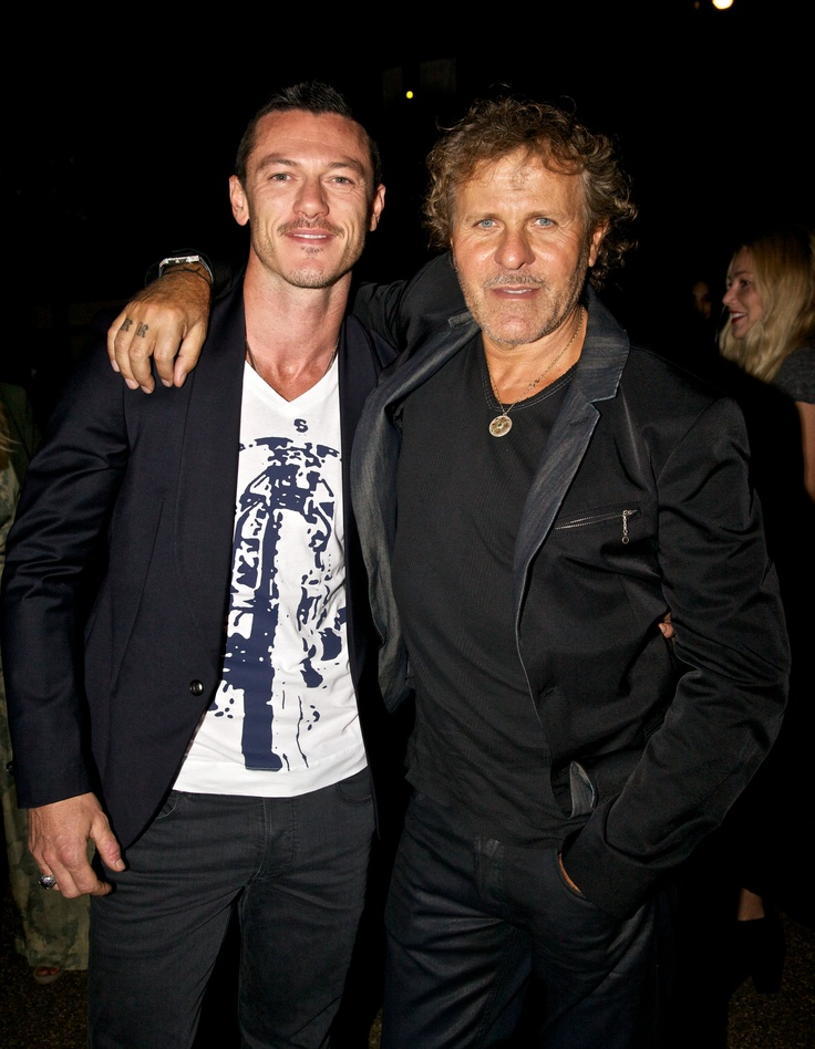 Luke Evans and Renzo Rosso