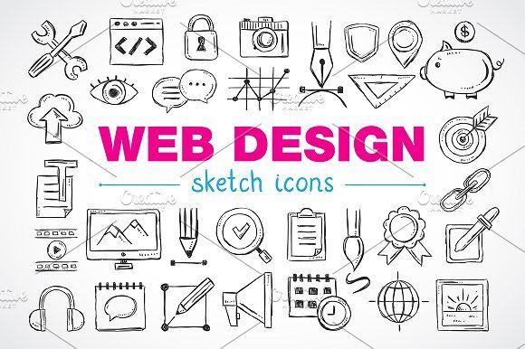 Web Design Sketch Icons Sketch Icon Design Sketch Web Design