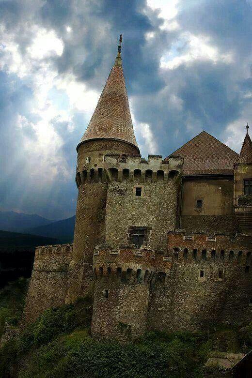 Medieval castle in Romania.