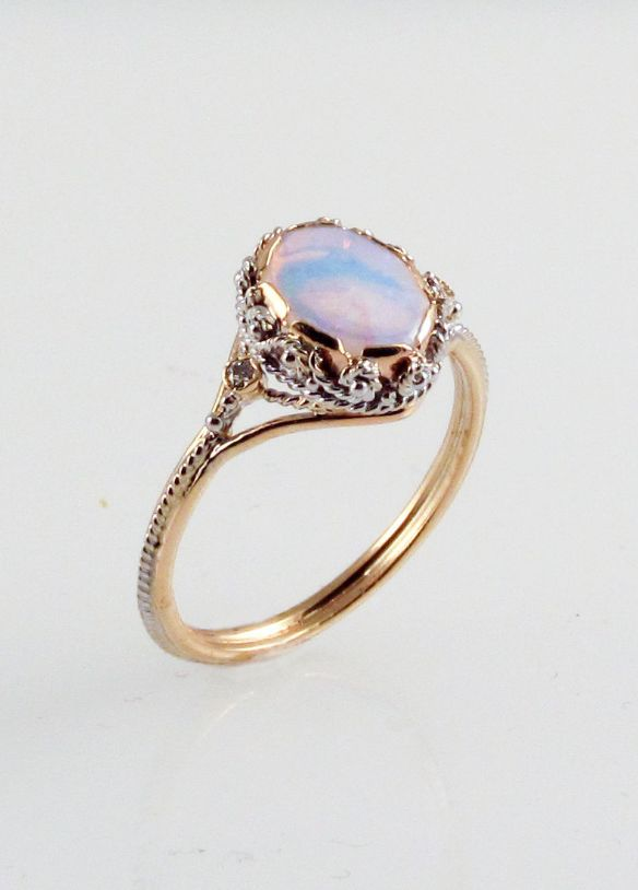 Opal Dream Ring | FernandoJewelry on Etsy