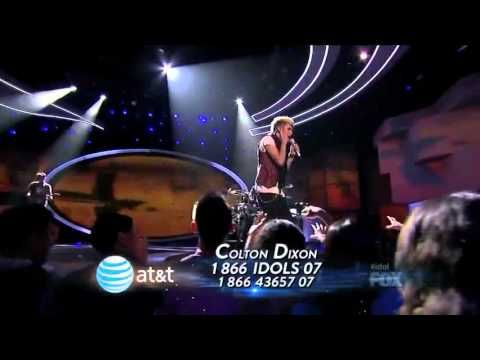 Colton Dixon Time After Time  Top 8   AMERICAN IDOL SEASON 11