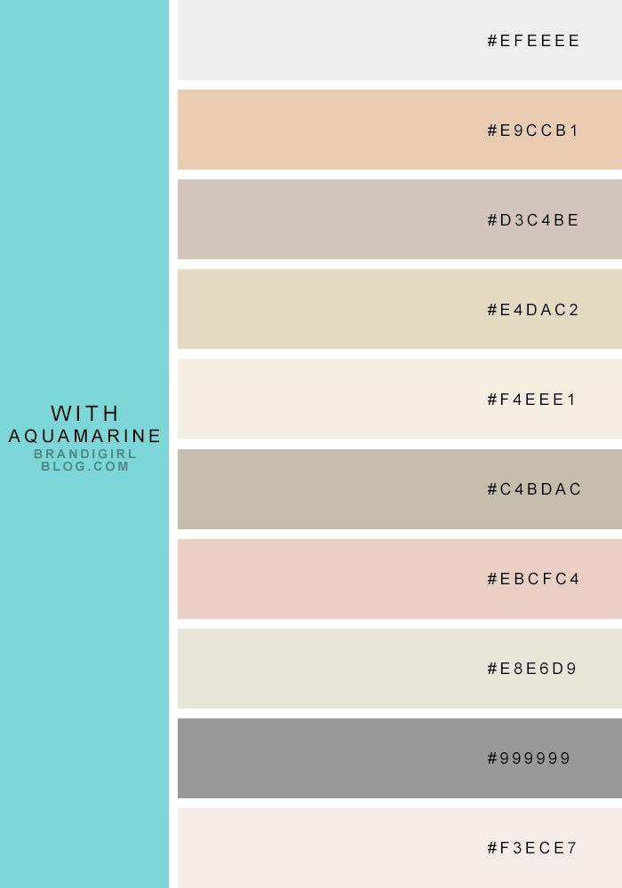 color palette | Brandi Girl Blog