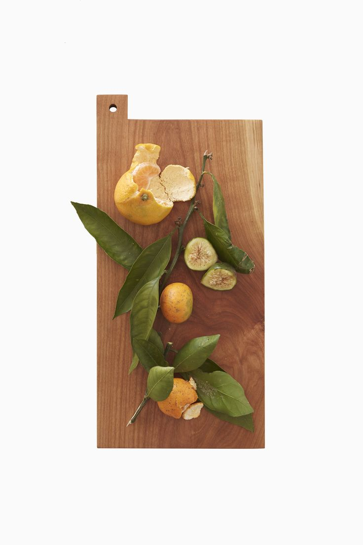 SS cutting board in cherry. James East Design