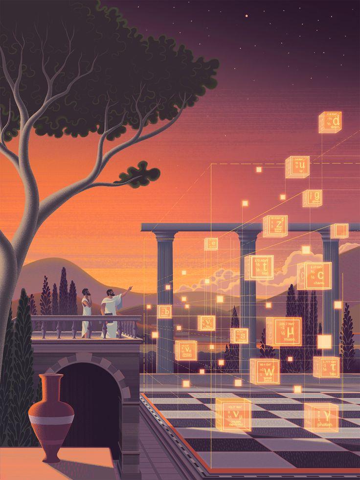 Una ilustracion del set 'The Rules of the Game', de Sam Chivers