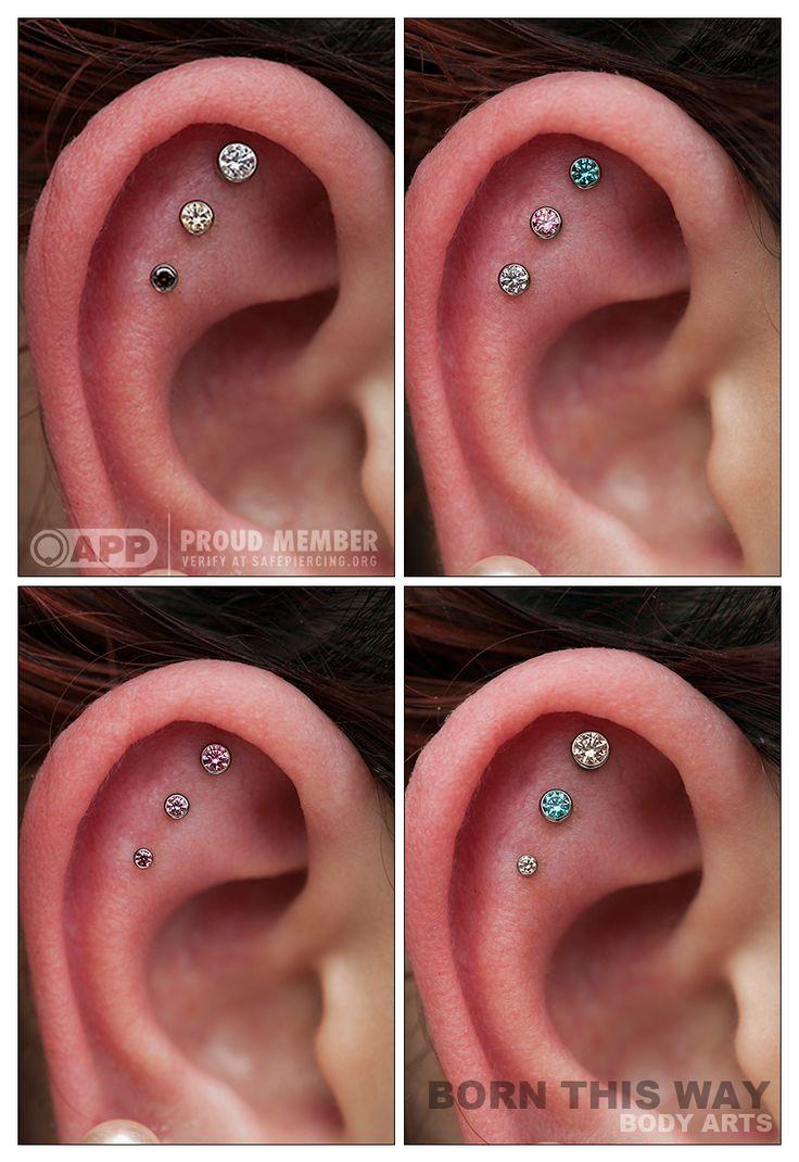 Triple Helix Piercing