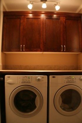 countertop over washer/dryer For the Home Pinterest