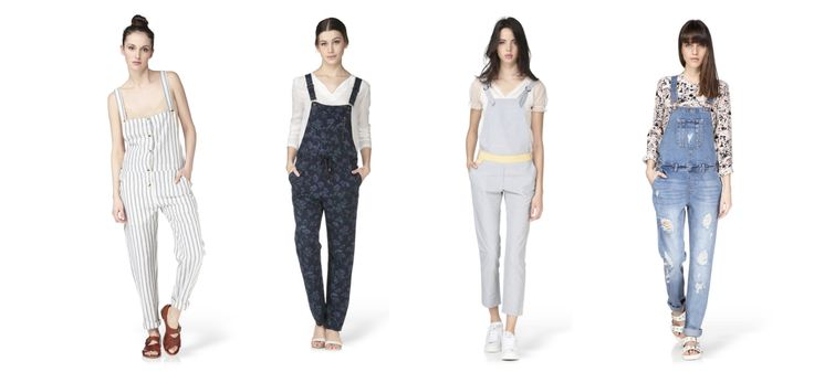 La salopette, le nouveau it-mode indispensable de notre garde-robe ? • La Parisine