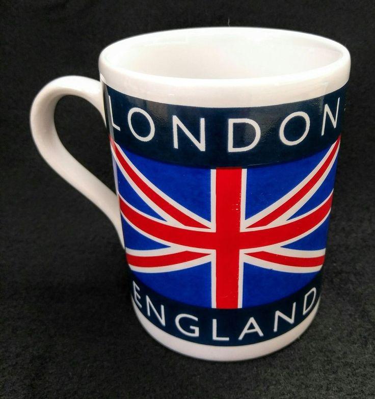 London, England Panama Jack Great Britan United Kingdom National Flag Coffee Mug #Unknown