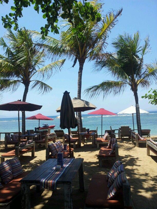 Beautiful View in Sanur Beach Bali,Indonesia