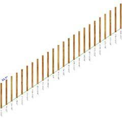Printable Fence Template   Baluster Spacing Calculator
