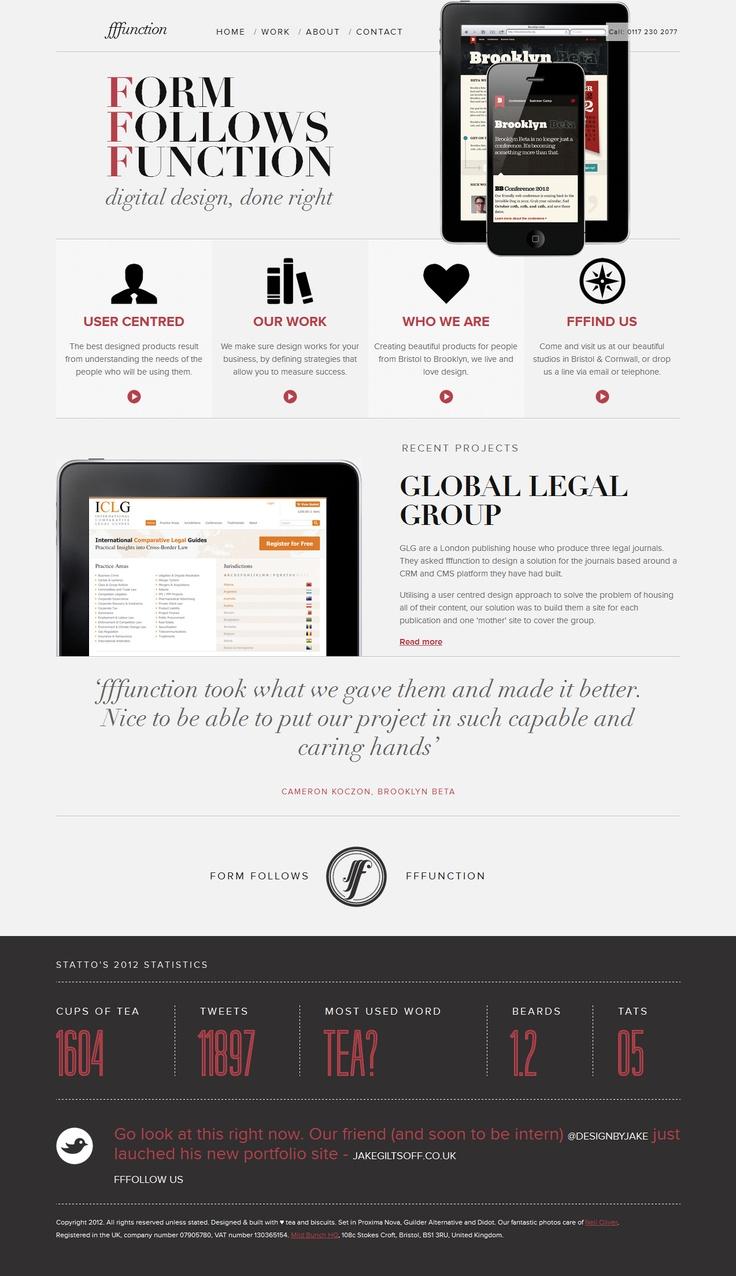 fffunction / Web design agency / Bristol & Cornwall UK