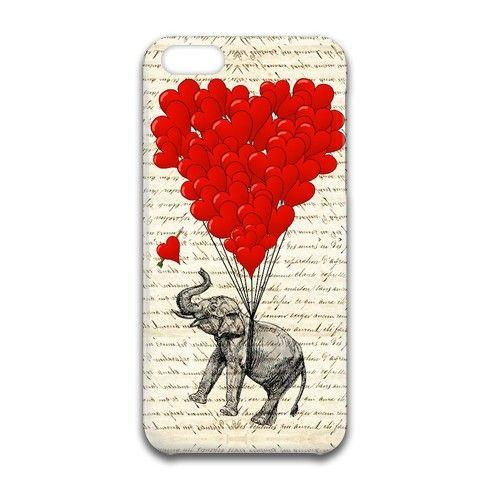 Elephant Heart iPhone Case by oconnart at zippi.co.uk