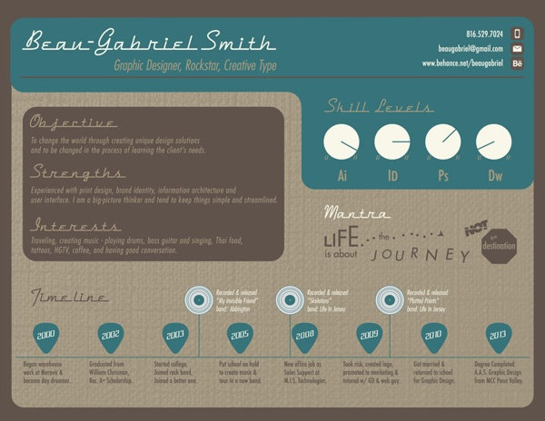 Best Infographic Resumes Images On   Infographic