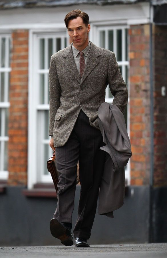 Benedict Cumberbatch as Alan Touring in The Imitation Game
