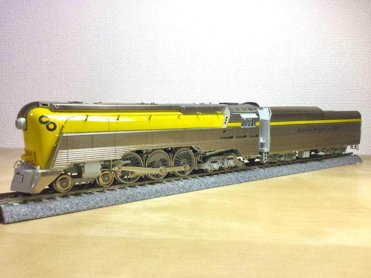 真鍮製 IRON HORSE MODELS 1988年製 C&O L-1 4-6-4 蒸気機関車 PRECISION SCALE Co D&D MODEL_画像2