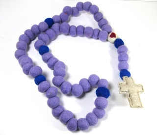 how to make a simple rosary