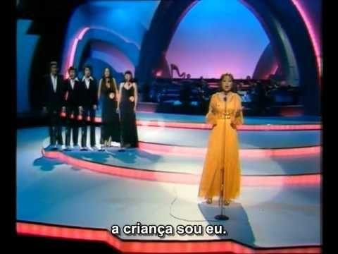 Eurovision 1977 - France - Marie Myriam - L'oiseau et l'enfant legendado...