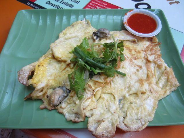 シンガポール風牡蠣オムレツの名店「濱海南美食」 - マックスウェル・センター