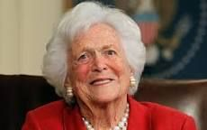 Barbara Bush is the wife of George H. W. Bush, the 41st President of the United States, and served as First Lady of the United States from 1989 to 1993. Wikipedia Born: June 8, 1925 (age 91), NewYork–Presbyterian/Queens Parents: Marvin Pierce, Pauline Robinson Grandchildren: Barbara Bush, Jenna Bush Hager, George P. Bush, More Education: Smith College, Ashley Hall, Rye Country Day School Children: George W. Bush, Jeb Bush, Neil Bush, Dorothy Bush Koch, Marvin Bush, Robin Bush