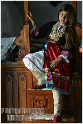 National dress of Karpathos, Greece.