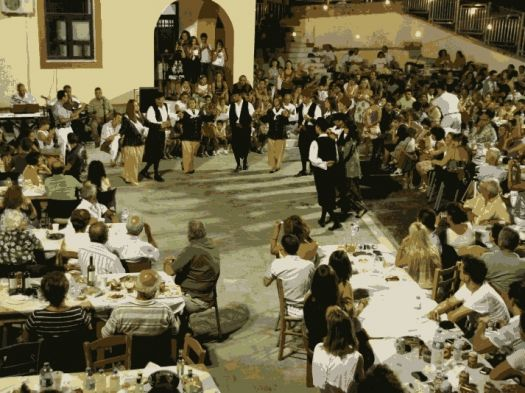 Festivities for the chessnut at Karytaina village Kynouria region Arcadia Peloponnese
