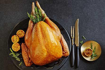 British Free-Range White Turkey - Serves 6-8