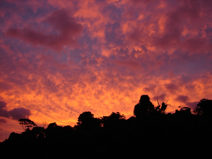 Sunsets such as these, you can only experience at Jungle Land Panama... Check out our Overnight adventures & Book our Panama Lodge now! Don't just visit the Panama Canal... LIVE IT!  http://www.junglelandpanama.com/