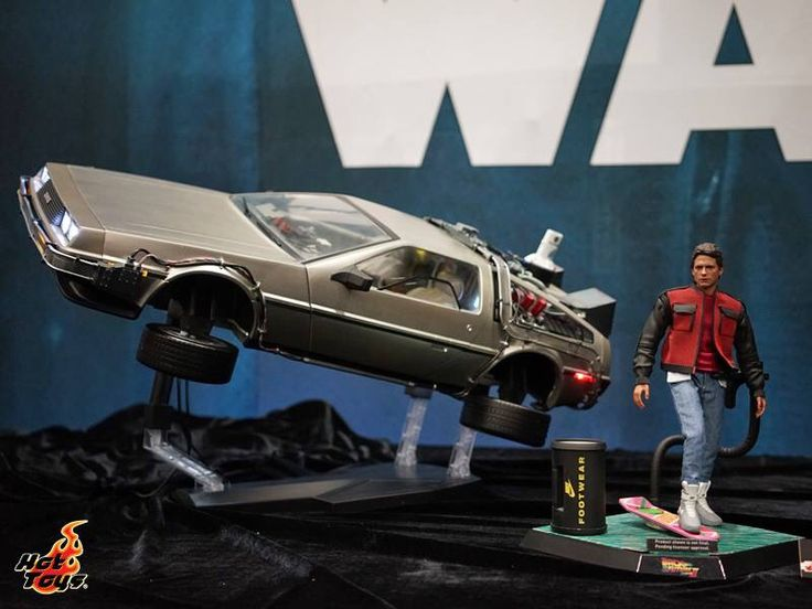 Hot toys Display at San Diego Comic Con. Marty McFly