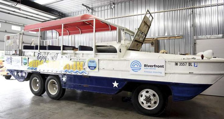 """A new ride will rumble down local streets this summer. When it's not on land, theamphibiousvehicle commonly referred to as a """"duck boat"""" ..."""