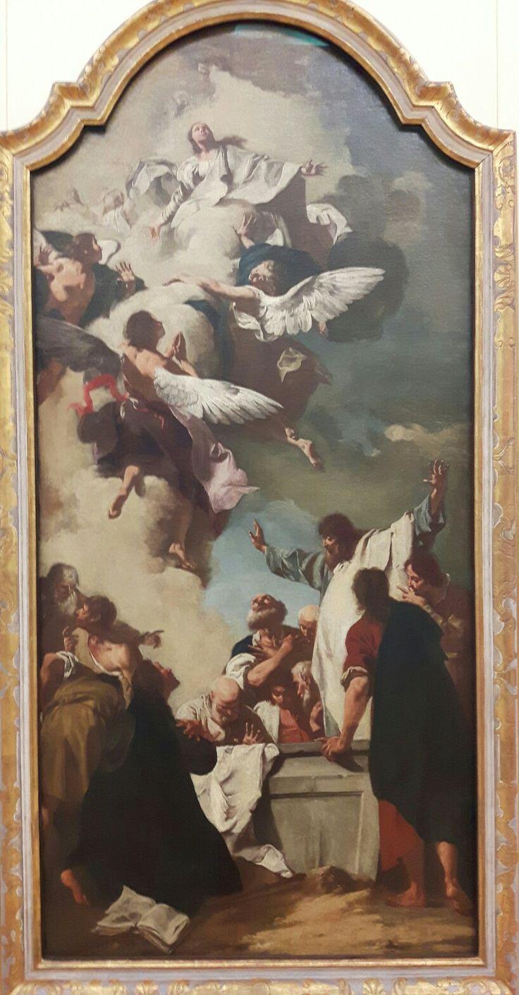Assunzione della Vergine di Piazzetta ridipinta dopo l'esecuzione del quadro.  1735-176. Wirz6