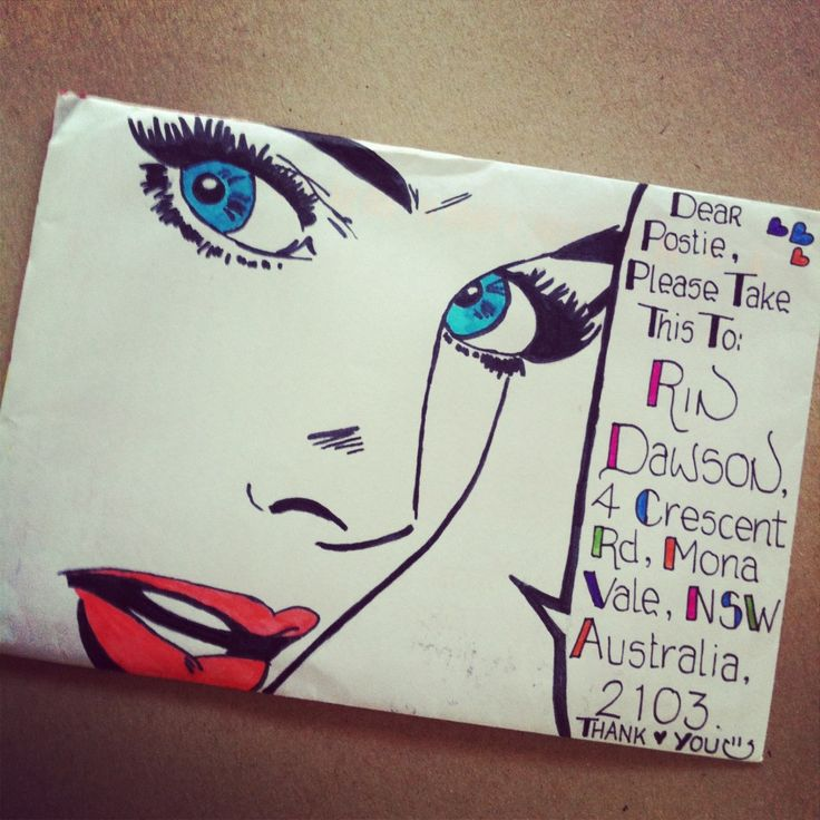 paperedthoughts #snailmail #envelope