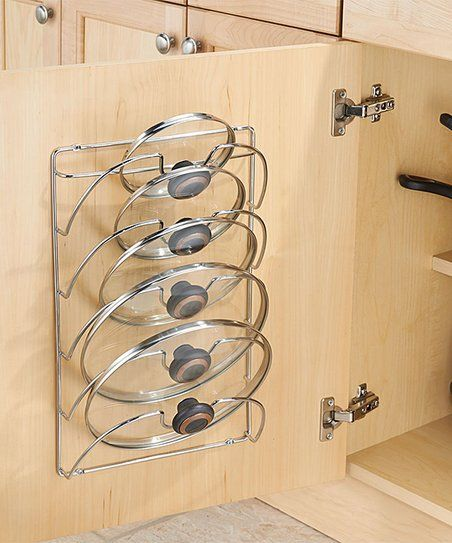 InterDesign Classico Cabinet Lid Rack | zulily