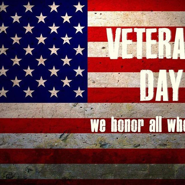 On this Veterans Day, let us remember the service of our veterans and those who still serve, for they have sacrificed greatly so that we can live free today. Thank-you. #veteransday