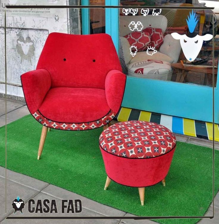 sillon-retro-gondola-Casa Fad