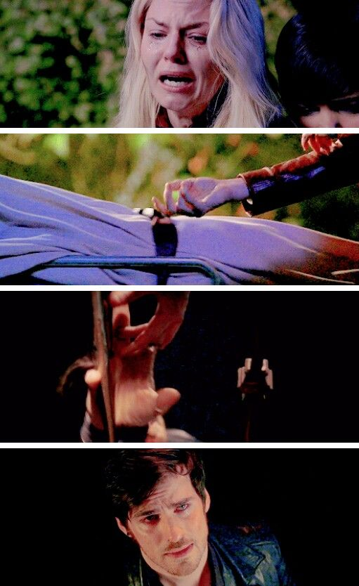 """And I thought """"Swan Song"""" was devastating...Parallels 5x12 """"Swan Song"""" and 5x20 """"Firebird"""" #onceuponatime #CaptainSwan"""