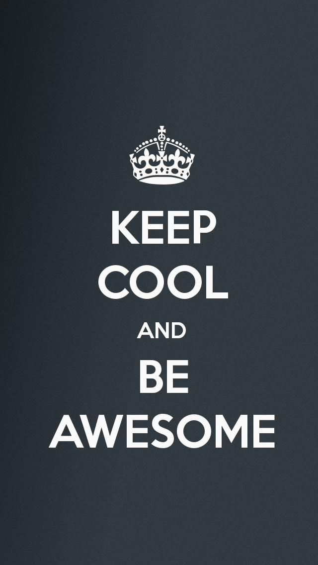 Superior Keep Calm An Be Awesome