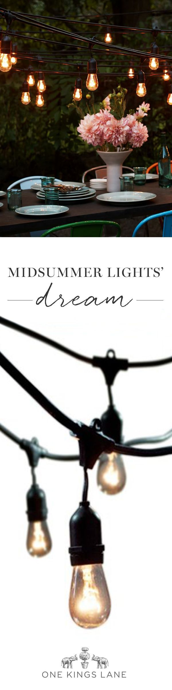 Outdoor String Lights All Weather : 1000+ ideas about String Lights Outdoor on Pinterest Solar String Lights, String Lighting and ...
