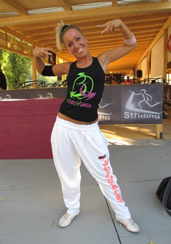 Zumba Fitness #Youngpeople #summer francesca moretti