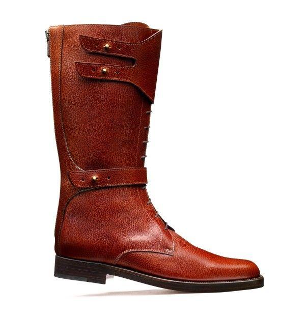 John Lobb men's riding boots