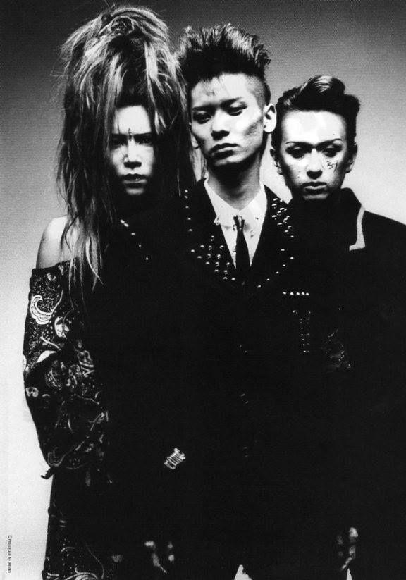 hide. Hisashi Imai.  Hidehiko Hoshino. X Japan X BUCK-TICK.