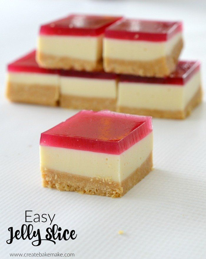 The best jelly slice recipe