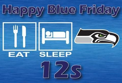 Happy Blue Friday Seahawks | Grosir Baju Surabaya