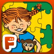 Pippi Långstrumps Pussel - pussel med olika svårighetsnivåer betyg 3/5 #spel