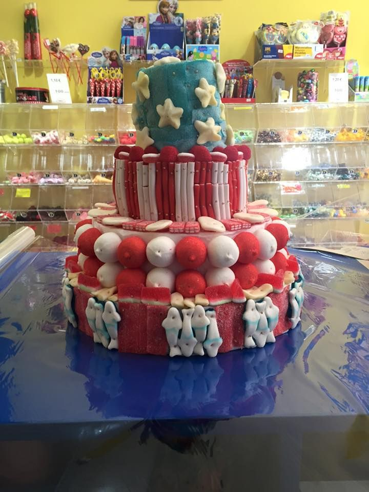 Duldi Castellón preparó esta dulce tarta tan americana para celebrar el 4 de julio (Independece Day)
