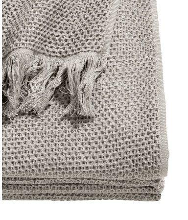 Tagesdecke aus Baumwolle   Grau   Home   H&M DE