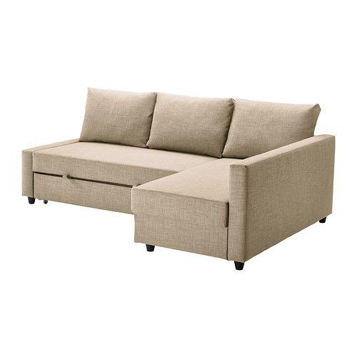 FRIHETEN Divano letto angolare IKEA Puoi collocare la chaise-longue a destra o a sinistra rispetto al divano e spostarla in base alle tue es...